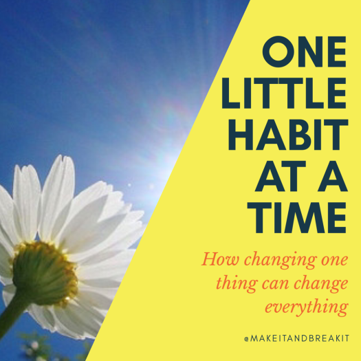 one habit at a time
